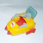 1980's Manta Force Bluebird small yellow vehicle